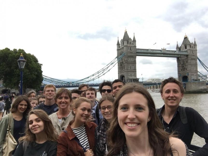 Une journée à Londres avec les élèves boursiers du Fonds de Dotation